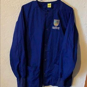 Chamberlain college of nursing scrub jacket